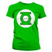 Green Lantern Logo Girly T-Shirt, Girly T-Shirt