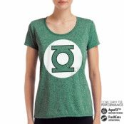 Green Lantern Logo Performance Girly Tee, CORE PERFORMANCE GIRLY TEE
