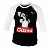Gremlins GIZMO Baseball 3/4 Sleeve Tee, Baseball 3/4 Sleeve Tee