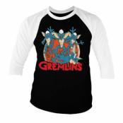 Gremlins Group Baseball 3/4 Sleeve Tee, Baseball 3/4 Sleeve Tee