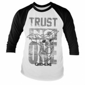 Gremlins - Trust No One Baseball Long Sleeve, Baseball Long Sleeve