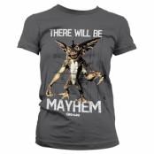 There Will Be Mayhem Girly Tee, Girly Tee