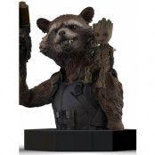 Guardians of the Galaxy - Rocket Raccoon & Groot Bust - 1/6