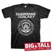 Guardians Of The Galaxy Shield Big & Tall T-Shirt, Big & Tall T-Shirt