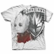 The Groot Allover T-Shirt, Basic Tee