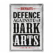 Harry Potter - Dark Arts Tin Sign - 21 x 15 cm