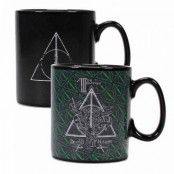 Harry Potter - Deathly Hallows Symbol Heat Change Mug