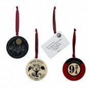 Harry Potter Dekoration 4-pack