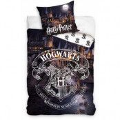 Harry Potter - Hogwarts at Night Duvet Set - 160 x 200 cm