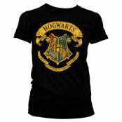 Harry Potter - Hogwarts Crest Girly Tee, Girly Tee