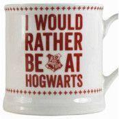 Harry Potter - I would rather be at Hogwarts Mug