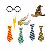 8 stk Selfie / Fotoeffekter - Harry Potter