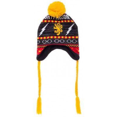 Harry Potter - Gryffindor Fairisle Laplander Ski Beanie