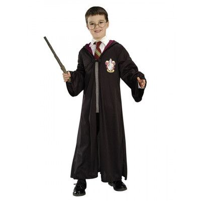 Harry Potter Gryffindor Kappa Maskeraddräkt Barn M