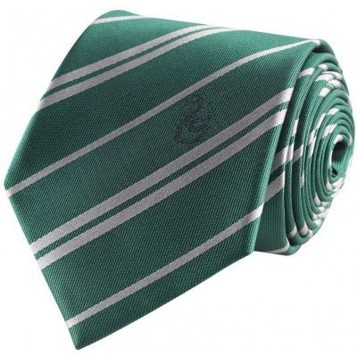 Harry Potter - Slytherin Tie & Metal Pin