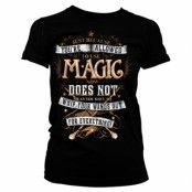Harry Potter Magic Girly Tee, Girly Tee