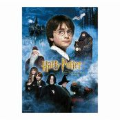 Harry Potter - Philosopher's Stone Movie Poster Jigsaw Puzzle