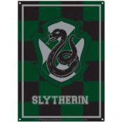 Harry Potter - Slytherin Tin Sign - 21 x 15 cm