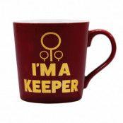 Harry Potter Mugg I´m A Keeper