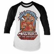 Masters Of The Universe - He-Man Baseball Long Sleeve Tee, Baseball Long Sleeve Tee