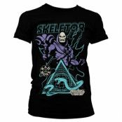 Skeletor - Bad To The Bone Girly Tee, Girly Tee
