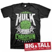 Hulk Champion Of Sakaar Big & Tall T-Shirt, Big & Tall T-Shirt