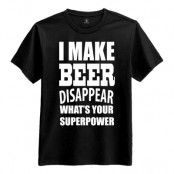 I Make Beer Disappear T-Shirt - Small