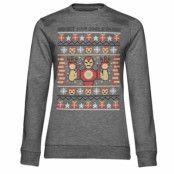 Iron Man - Get Your Jingle On Girls Sweatshirt, Girls Sweatshirt