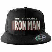 Iron Man Snapback Cap, Adjustable Snapback Cap