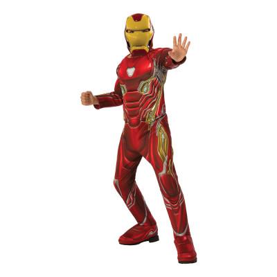 Marvel Endgame Iron Man Deluxe Barn Maskeraddräkt - Small