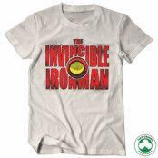 The Invincible Ironman Bold Organic T-Shirt, 100% Organic T-Shirt