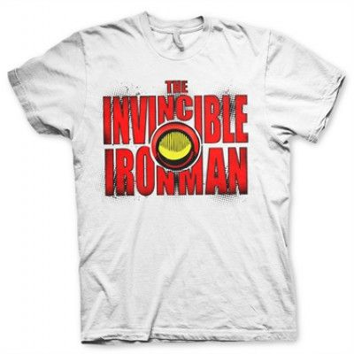 The Invincible Ironman Bold T-Shirt, Basic Tee