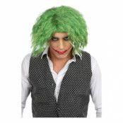 Jokern Peruk Knallgrön - One size