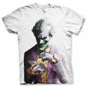 The Joker - Arkham Allover T-Shirt, Basic Tee