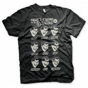 The Many Moods Of The Joker T-Shirt, Basic Tee