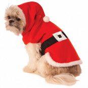 Hunddräkt  Santa Hoddie S