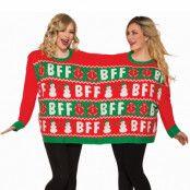 Jultröja dubbel, best friends