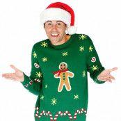 Jultröja Gingerbread - S