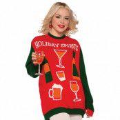 Jultröja, holiday spirits-M