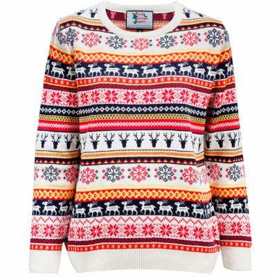 Jultröja Reindeers & Snowflakes