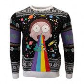 Jultröja Rick And Morty Rainbow