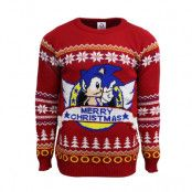 Jultröja Sonic Merry Christmas, 3XL