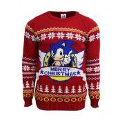 Jultröja Sonic Merry Christmas, XS
