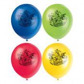 Ballonger Justice League Flerfärgade - 8-pack