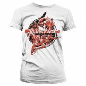 Justice League Heroes Girly Tee, Girly Tee