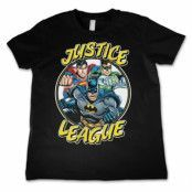 Justice League Team Kids Tee, Kids T-Shirt