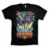 Justice League - Team Up! T-Shirt, Basic Tee