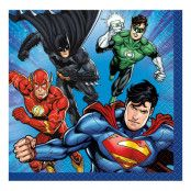 Kaffeservetter Justice League - 16-pack