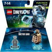 LEGO Dimensions Dr.Who,Cyberman & Dalek Fun Pack