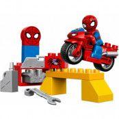 LEGO Duplo Spider Man Web-Bike Workshop